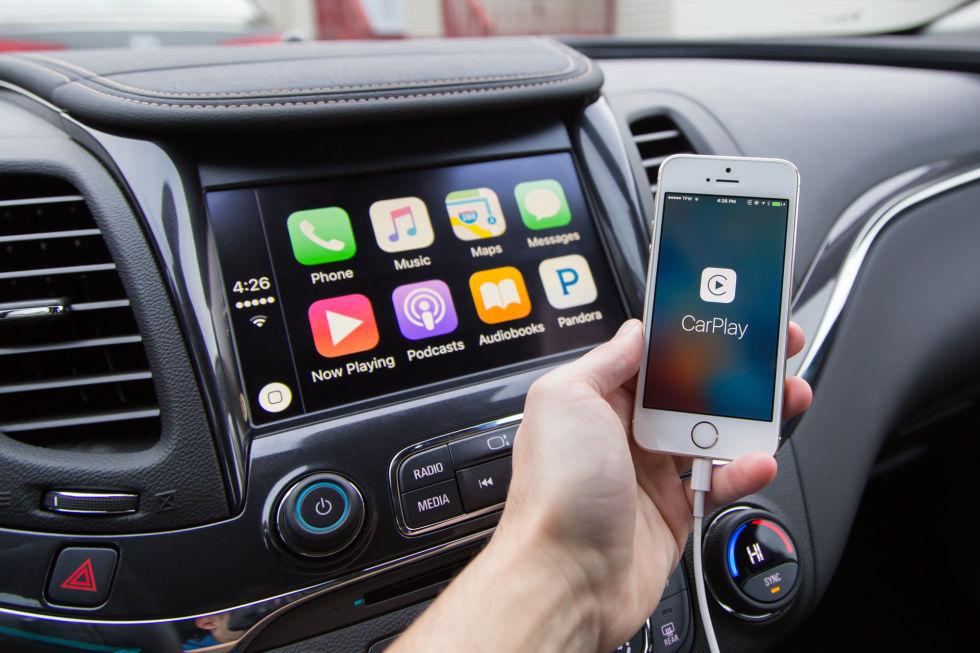Беспроводные версии андроид Auto иApple CarPlay представила компания Harman