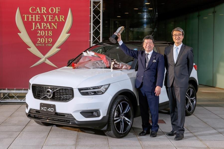Volvo второй год подряд победил в японском «Автомобиле года»