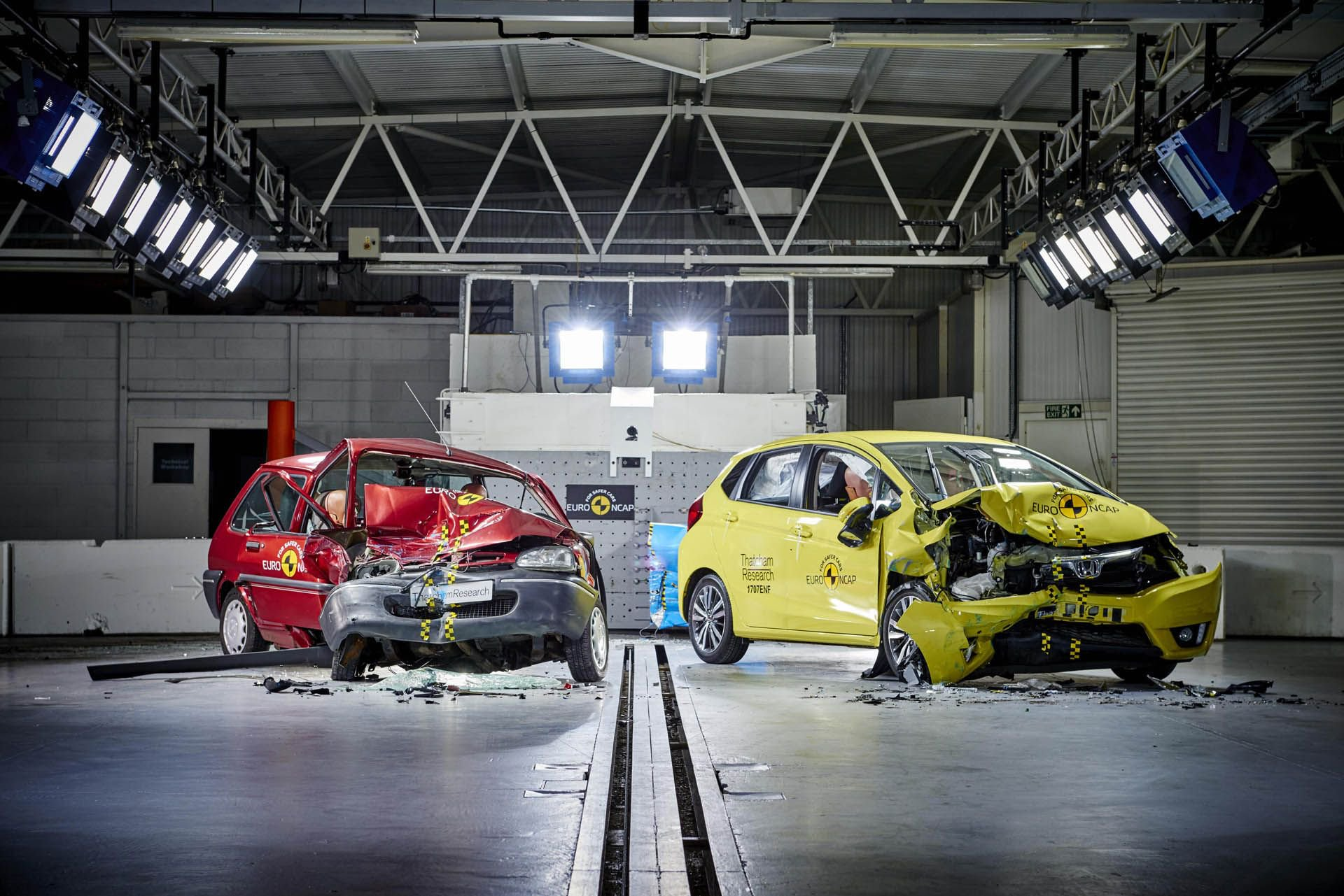 NHTSA рассказало насколько новые автомобили безопаснее старых