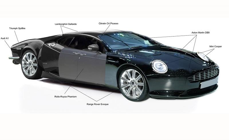 Британцы показали автомобиль с «идеальным» дизайном