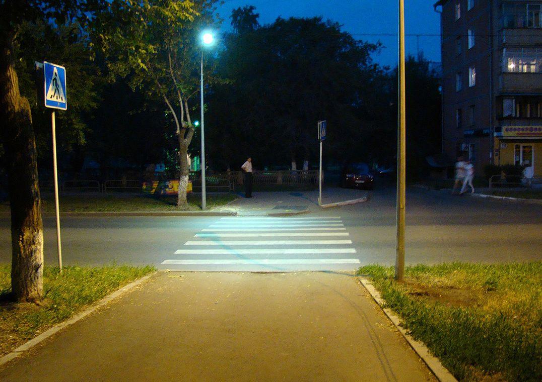 В Киеве на 12 пешеходных переходах появится сенсорное освещение