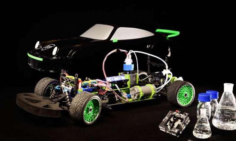 В Нидерландах создали прототип «кислотомобиля»