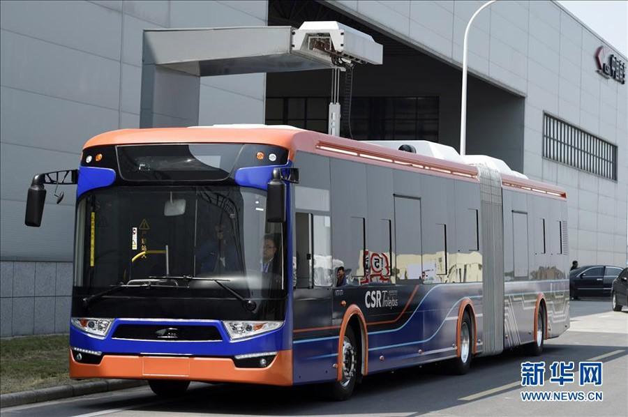 Автобус с быстрой зарядкой