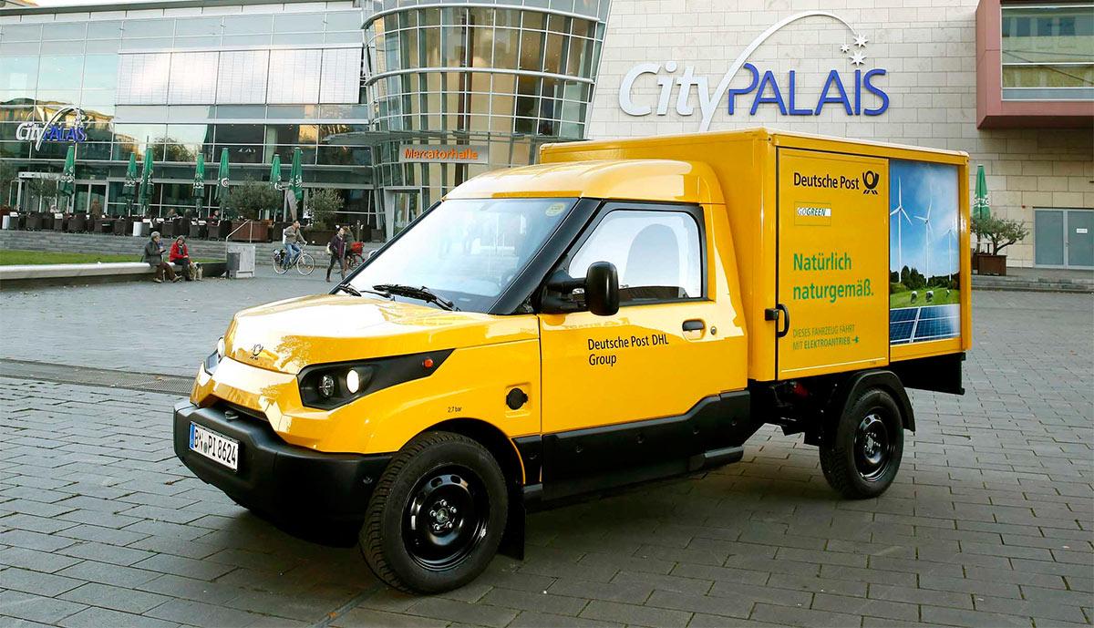 Deutsche Post начнёт серийный выпуск электрических фургонов