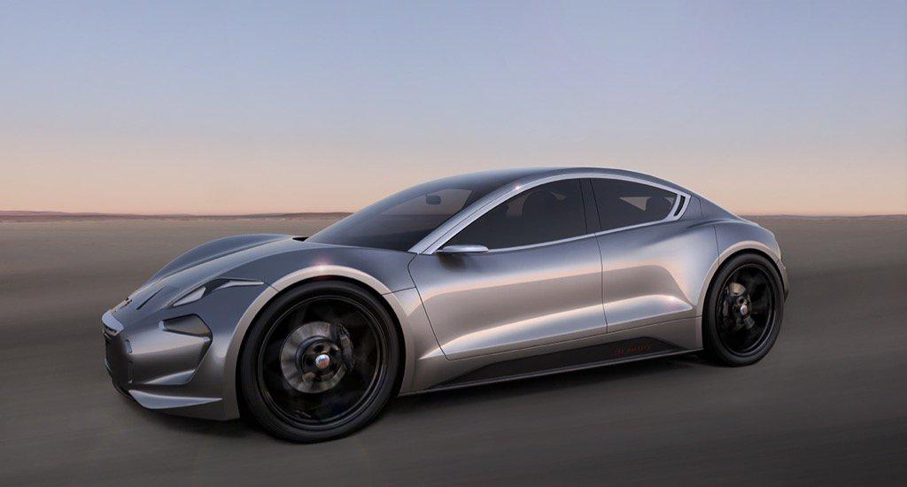 Фискер раскрыл дизайн и название электромобиля с инновационными батареями