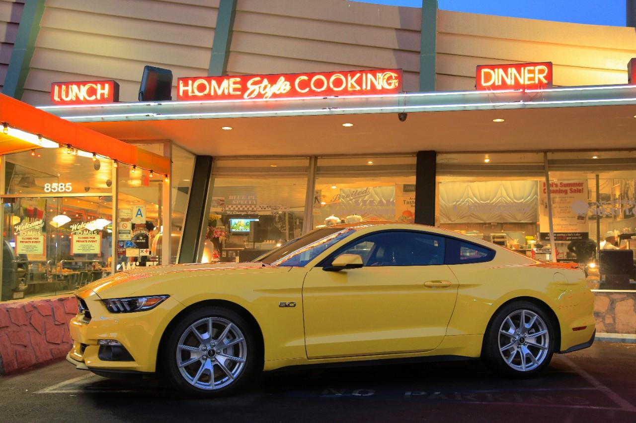 Ford Mustang euro