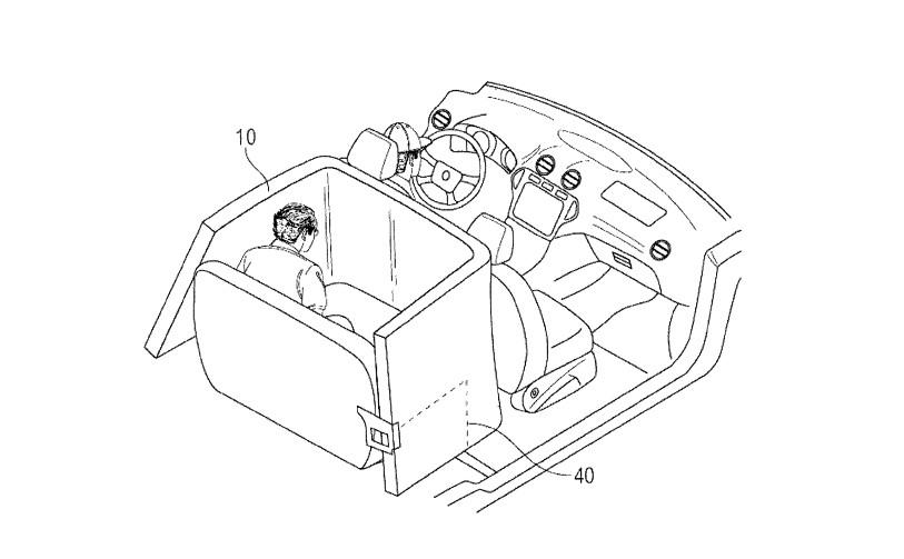 Ford защитит пассажиров в аварии надувной клеткой безопасности