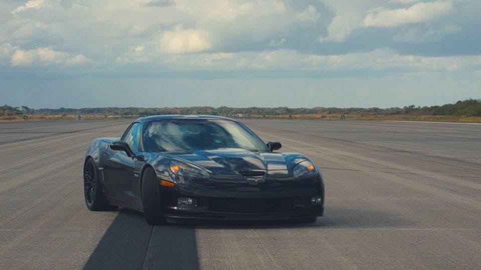 Chevrolet Corvette установил рекорд скорости среди электромобилей