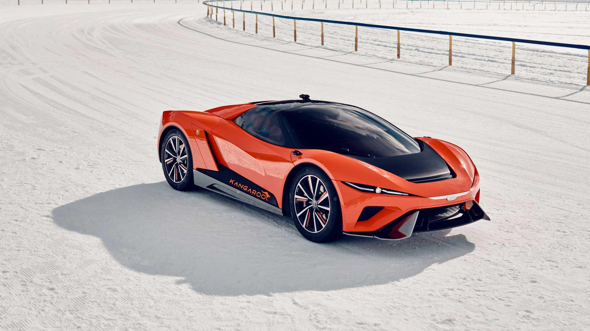 GFG Style представит в Женеве 483-сильное электрическое кросс-купе