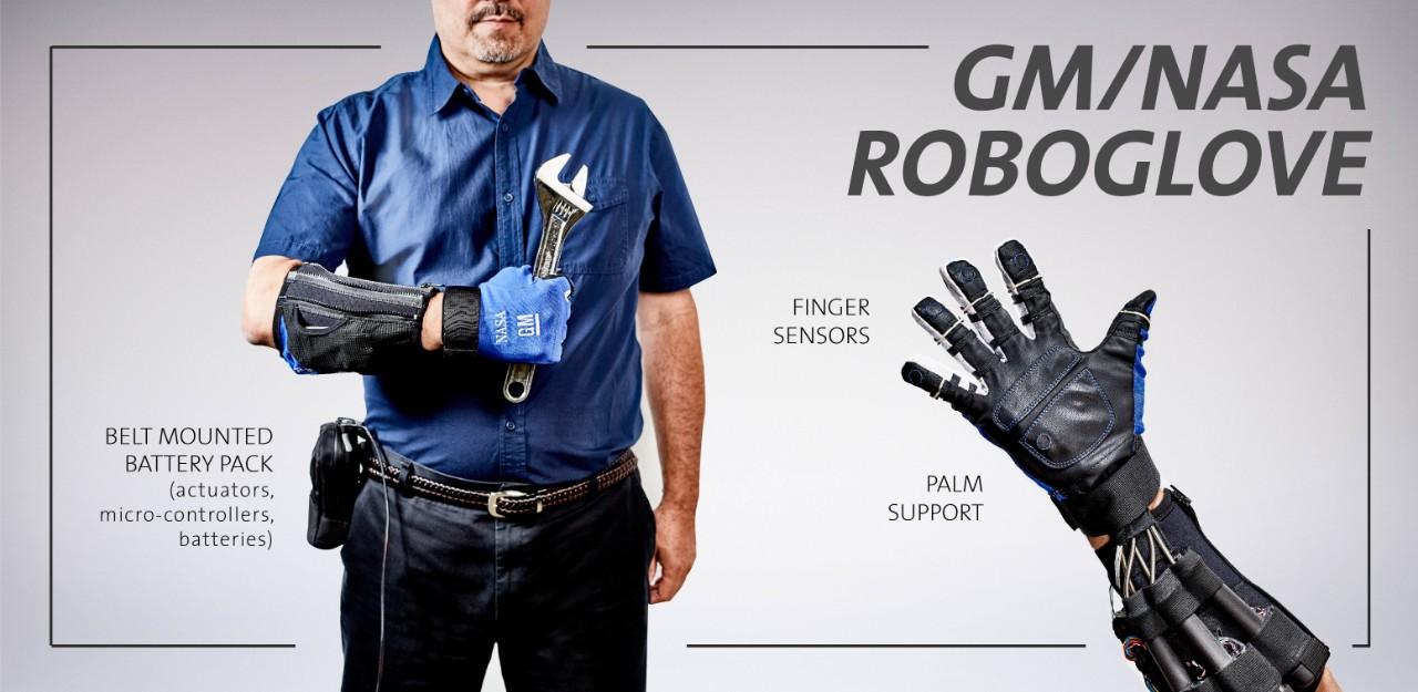 Рабочие заводов GM получат роботизированные перчатки как у NASA