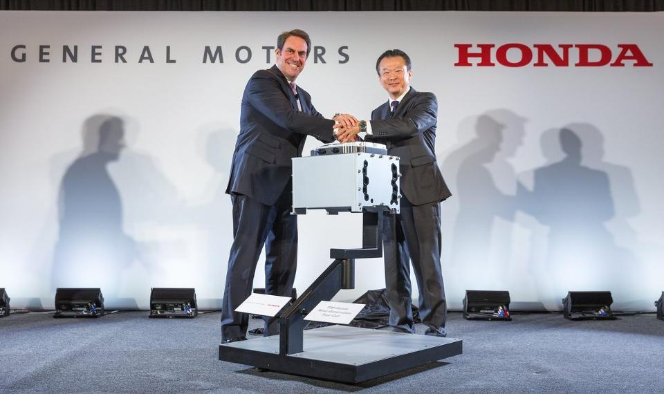 GM и Хонда начнут общую разработку водородомобилей