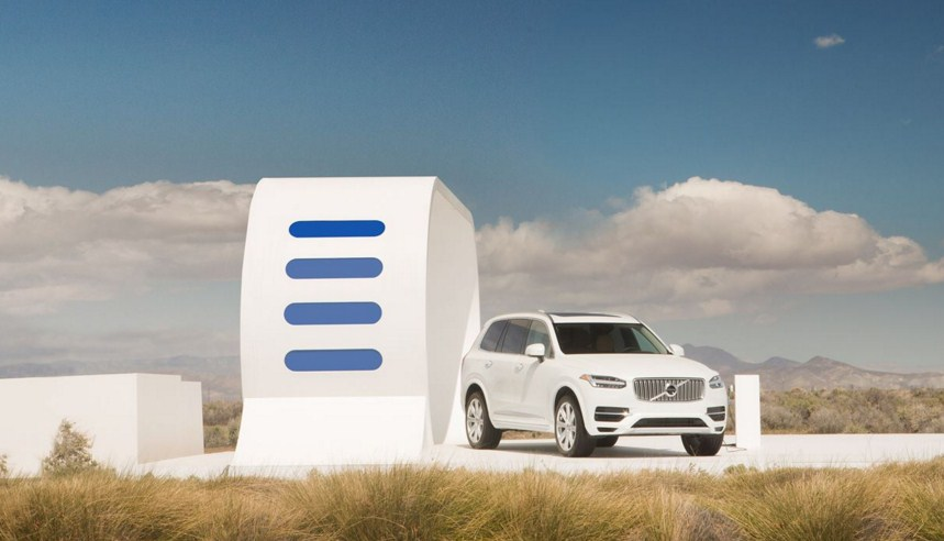 Volvo «похитила» энергию других автомобилей для кроссовера XC90 (видео)