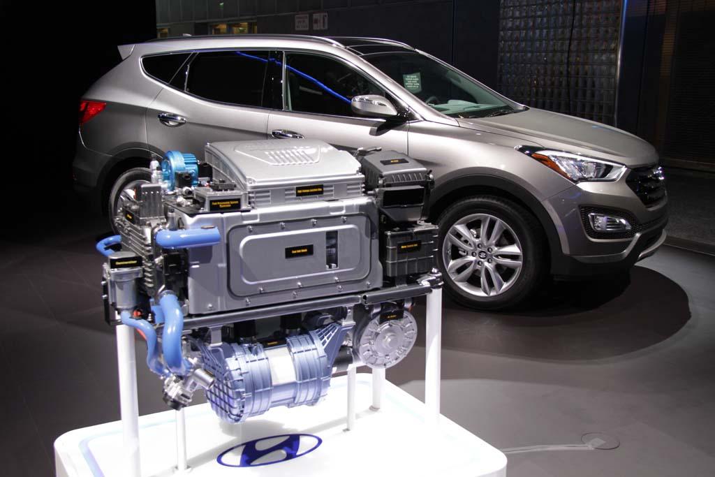 Hyundai озвучила сроки появления водородомобиля второго поколения