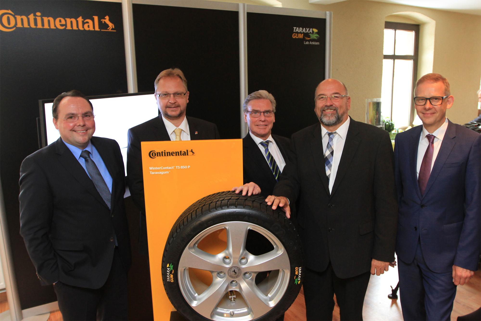 Continental выпустит шины из одуванчиков