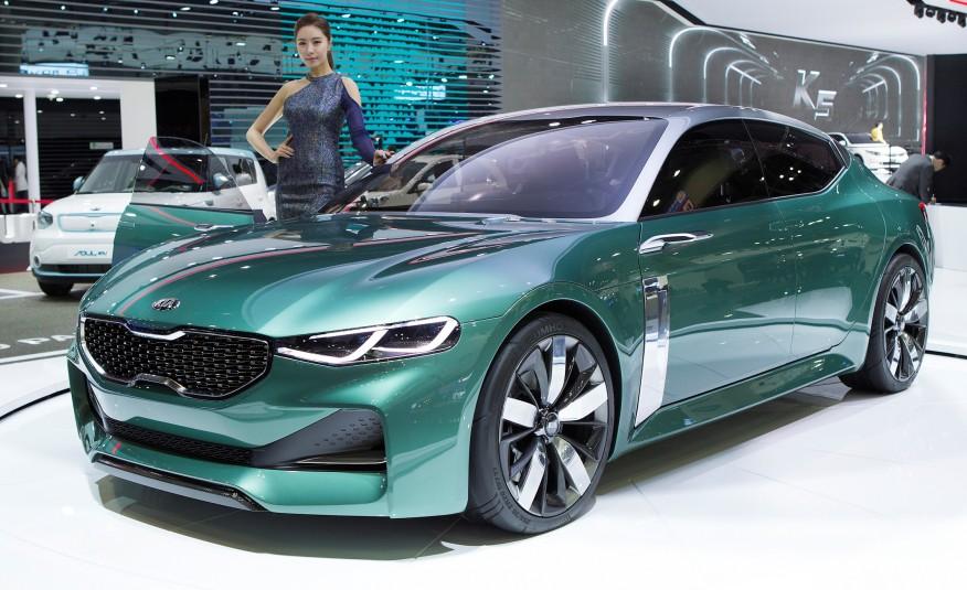 Kia выпустит заднеприводный седан в 2017 году