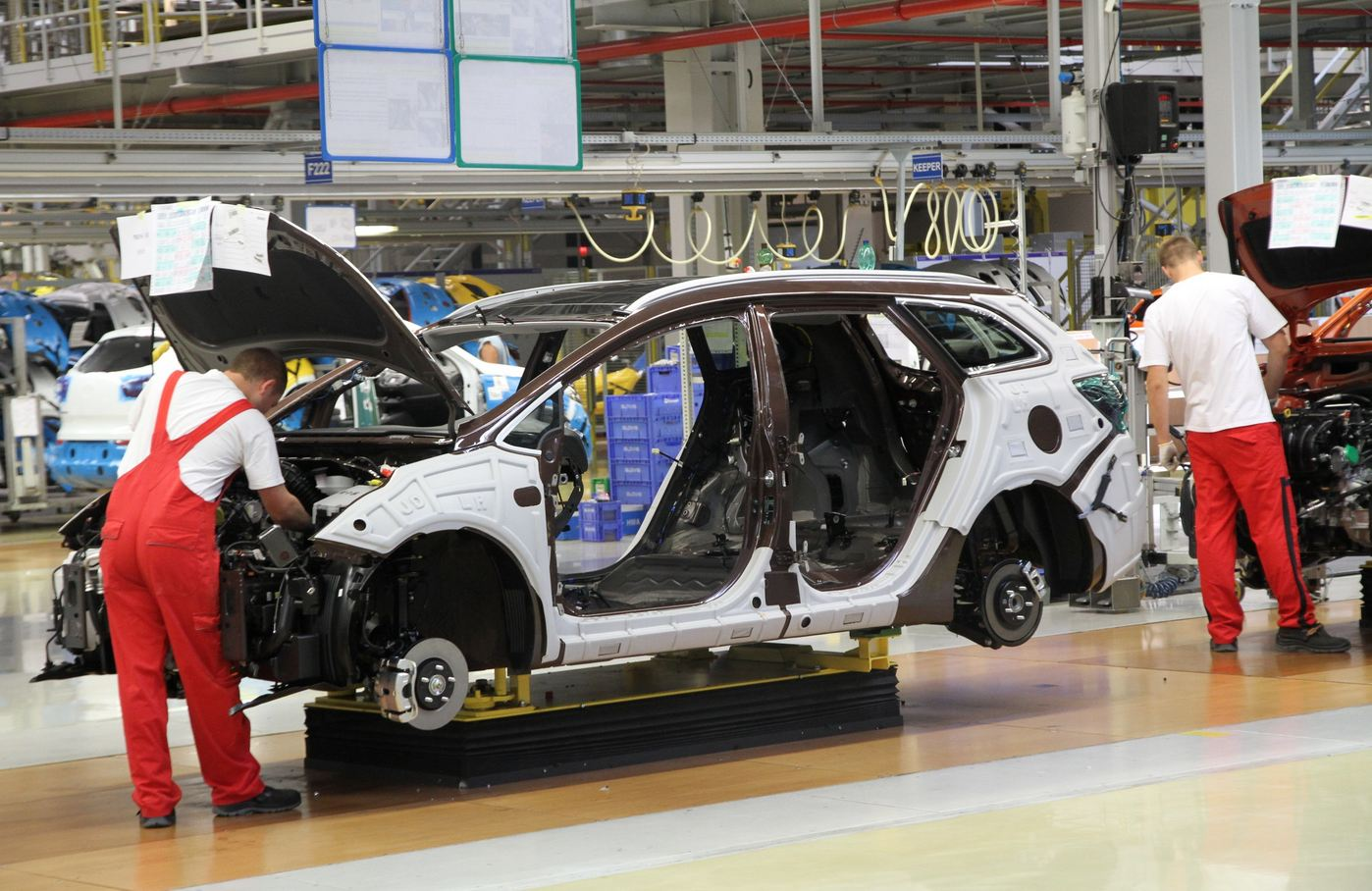 Словакия впервые выпустила свыше миллиона автомобилей