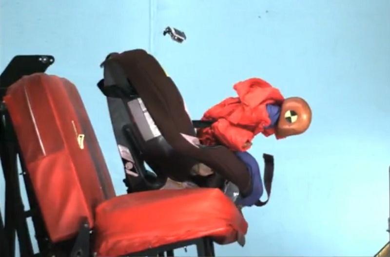 Американцы доказали опасность перевозки детей в куртках