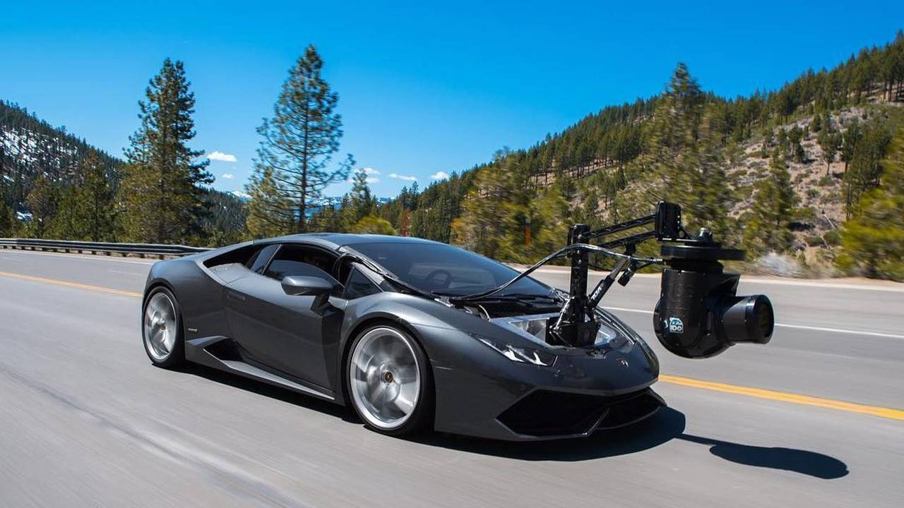 Lamborghini Huracan превратили в быстрейший камера-кар