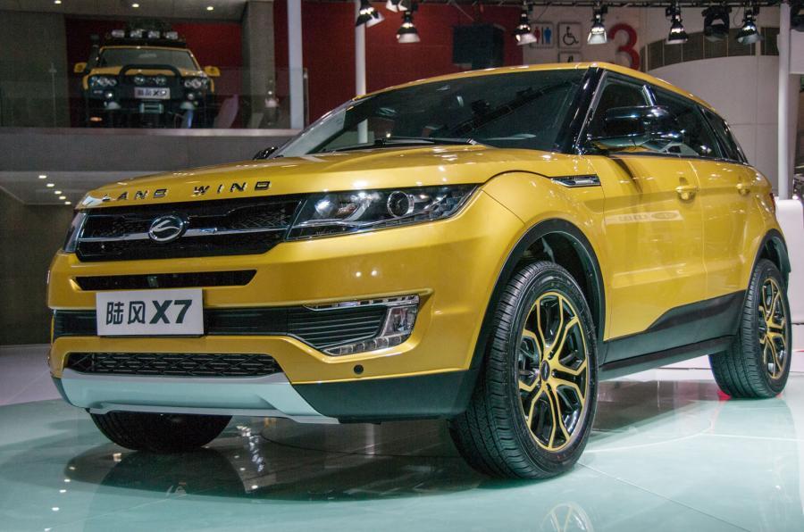 Jaguar Land Rover подала в суд на китайского производителя клона Evoque