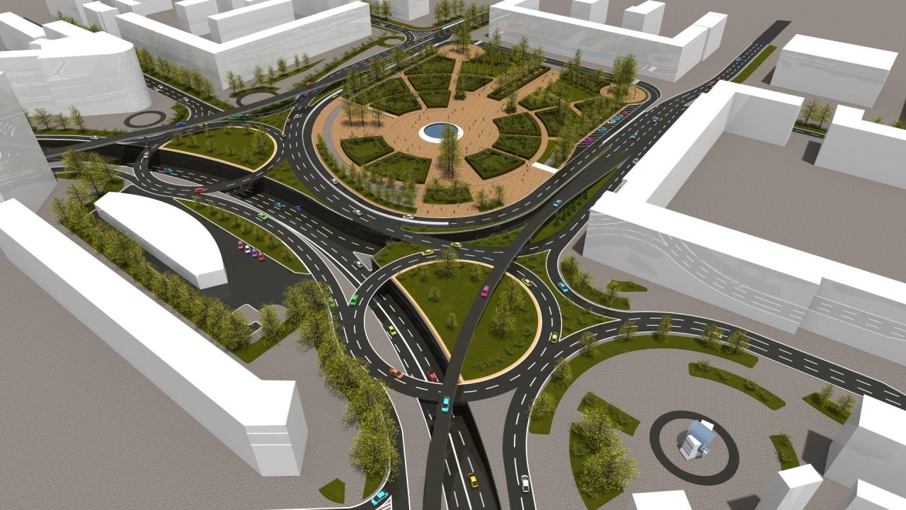 Проект реконструкции Ленинградской площади