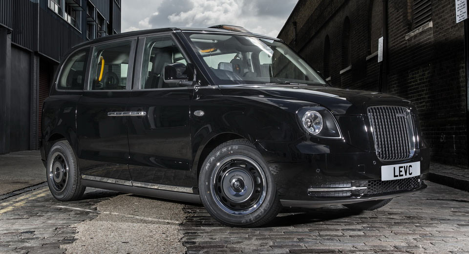 Лондонский автомобиль такси стал гибридом