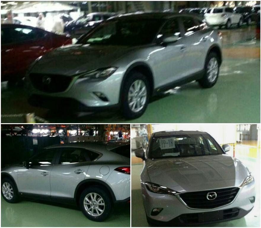 Серийную Mazda CX-4 заметили без камуфляжа
