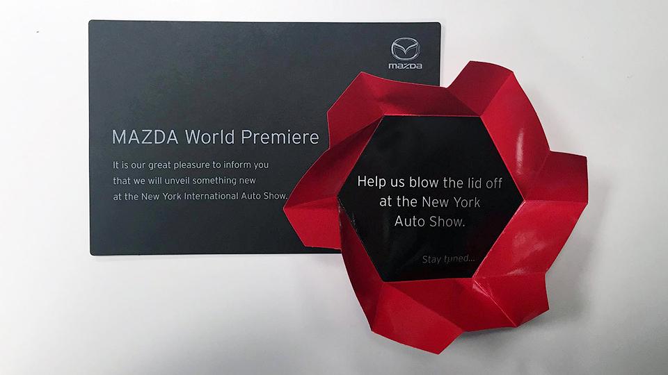 Mazda представит в марте новую модель
