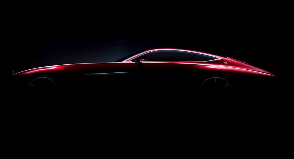Mercedes-Maybach приоткрыл шестиметровое купе