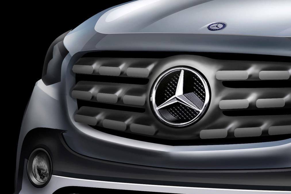 Посмотреть на пикап Mercedes Benz можно будет уже в 2016 году