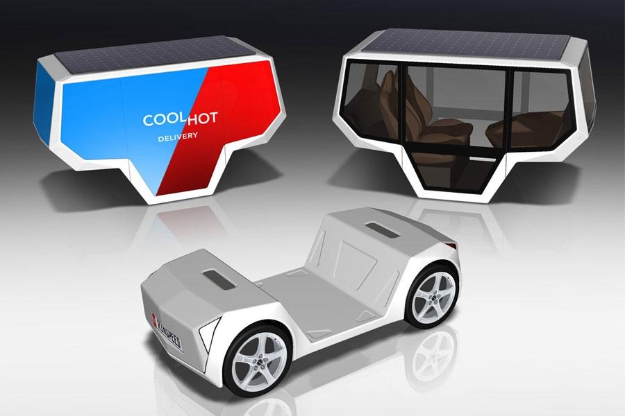 Самоходная платформа Rinspeed Snap получит продолжение