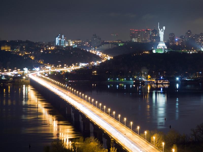 В новом генплане Киева предусмотрели три дополнительных перехода через Днепр