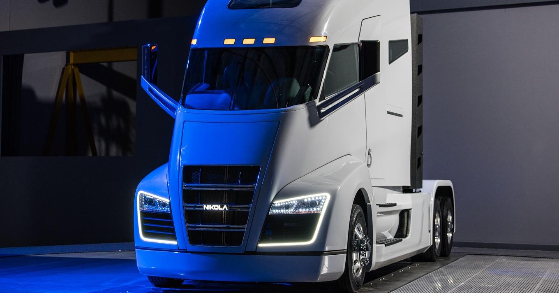 Компания Nikola Motor представила 1000-сильный тягач на водороде