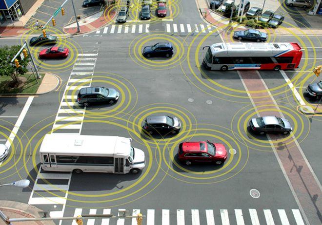 Система «общения» между автомобилями General Motors