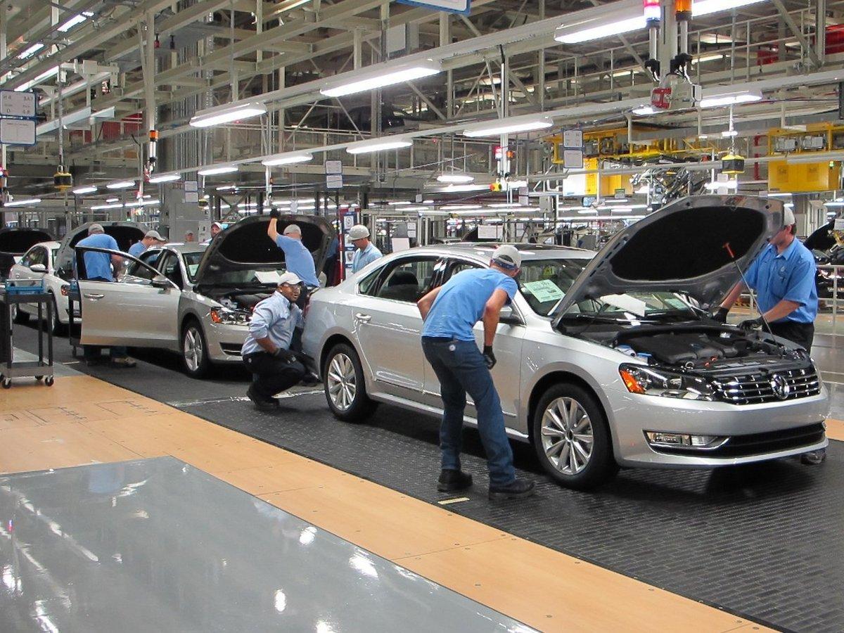 Volkswagen начнет выпускать электромобили в Северной Америке
