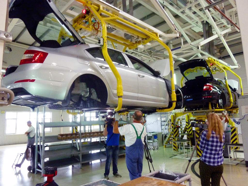 В октябре украинское автопроизводство сократилось на 22 процента