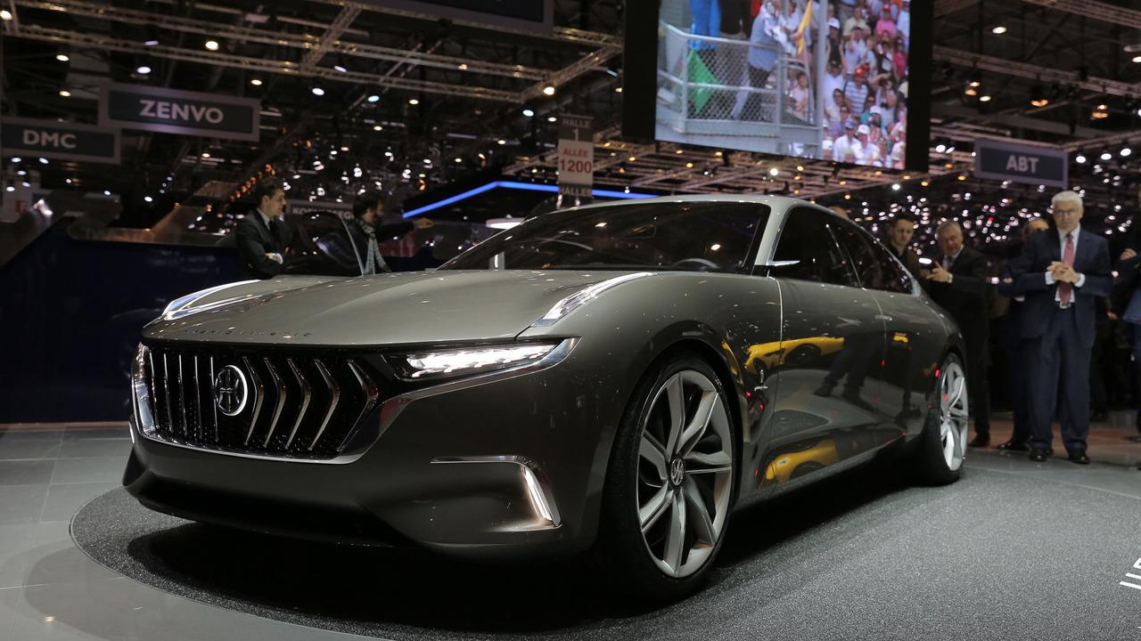 Pininfarina представила электрический седан с микротурбогенератором