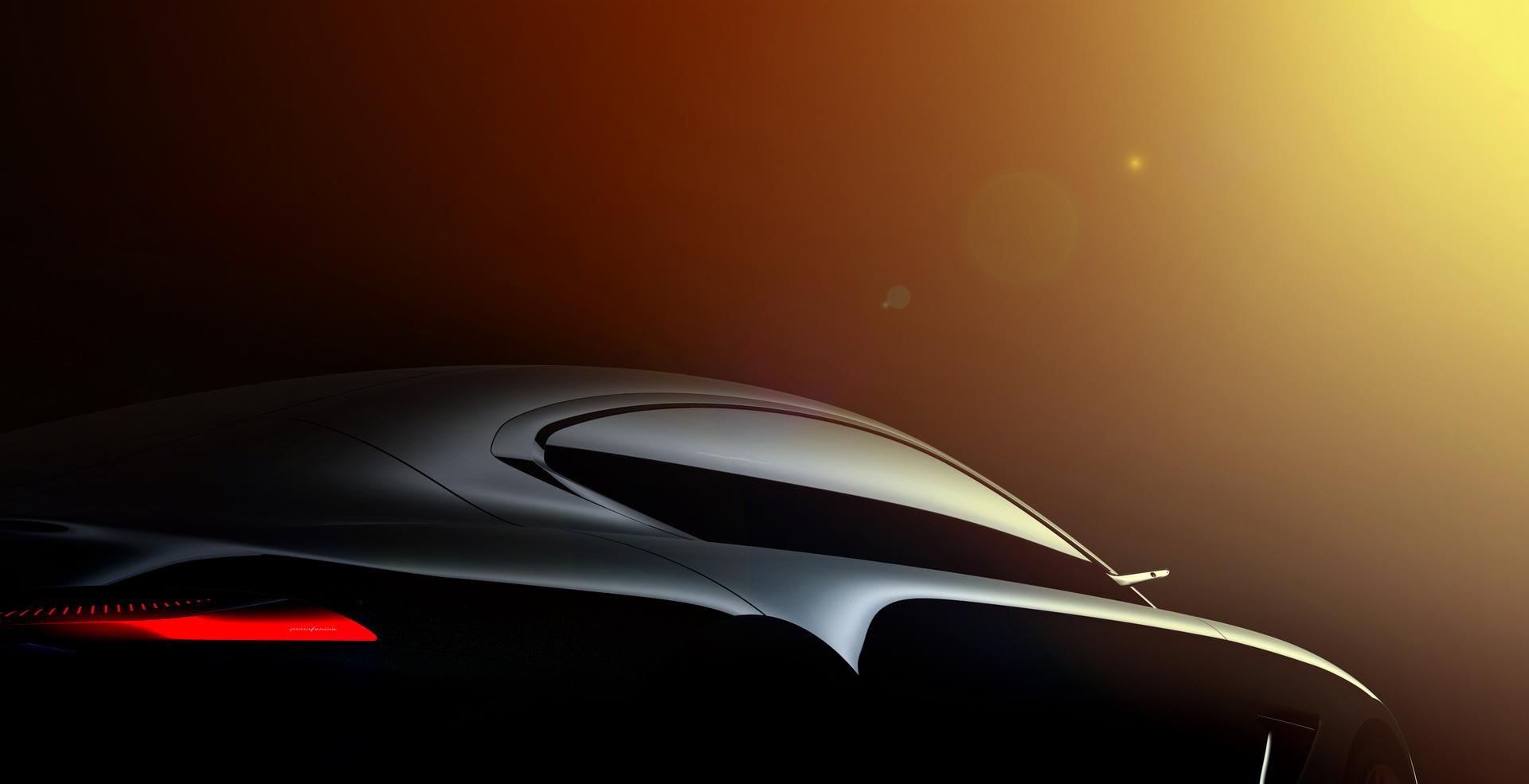 Новый эскиз раскрыл особенности купе с дизайном Pininfarina