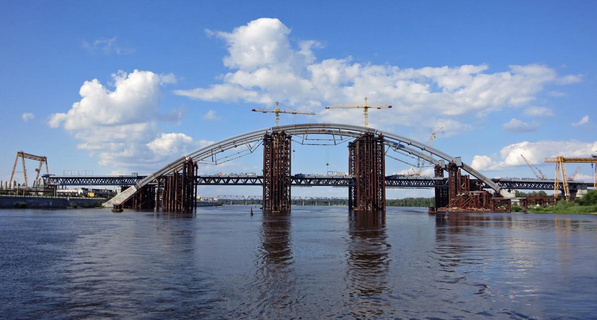 Проезд по новому мосту на Троещину хотят сделать платным