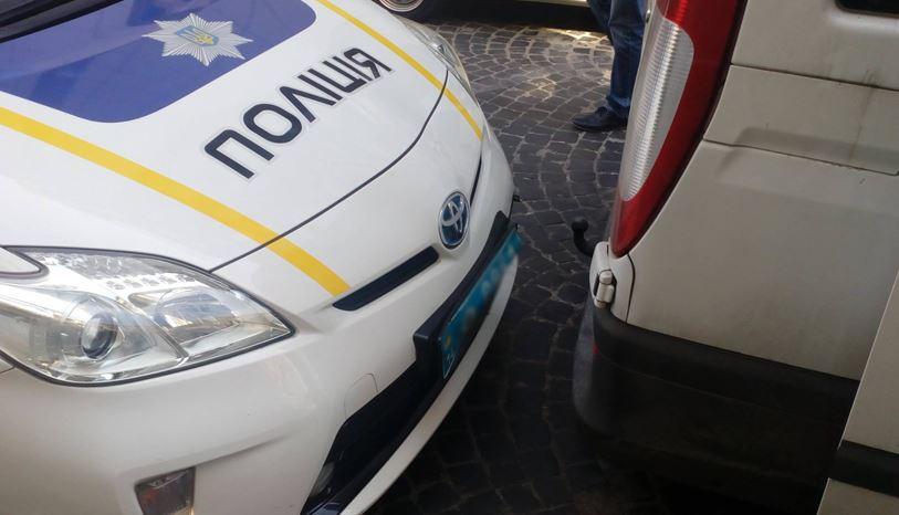 Полиция назвала количество повреждённых патрульных автомобилей