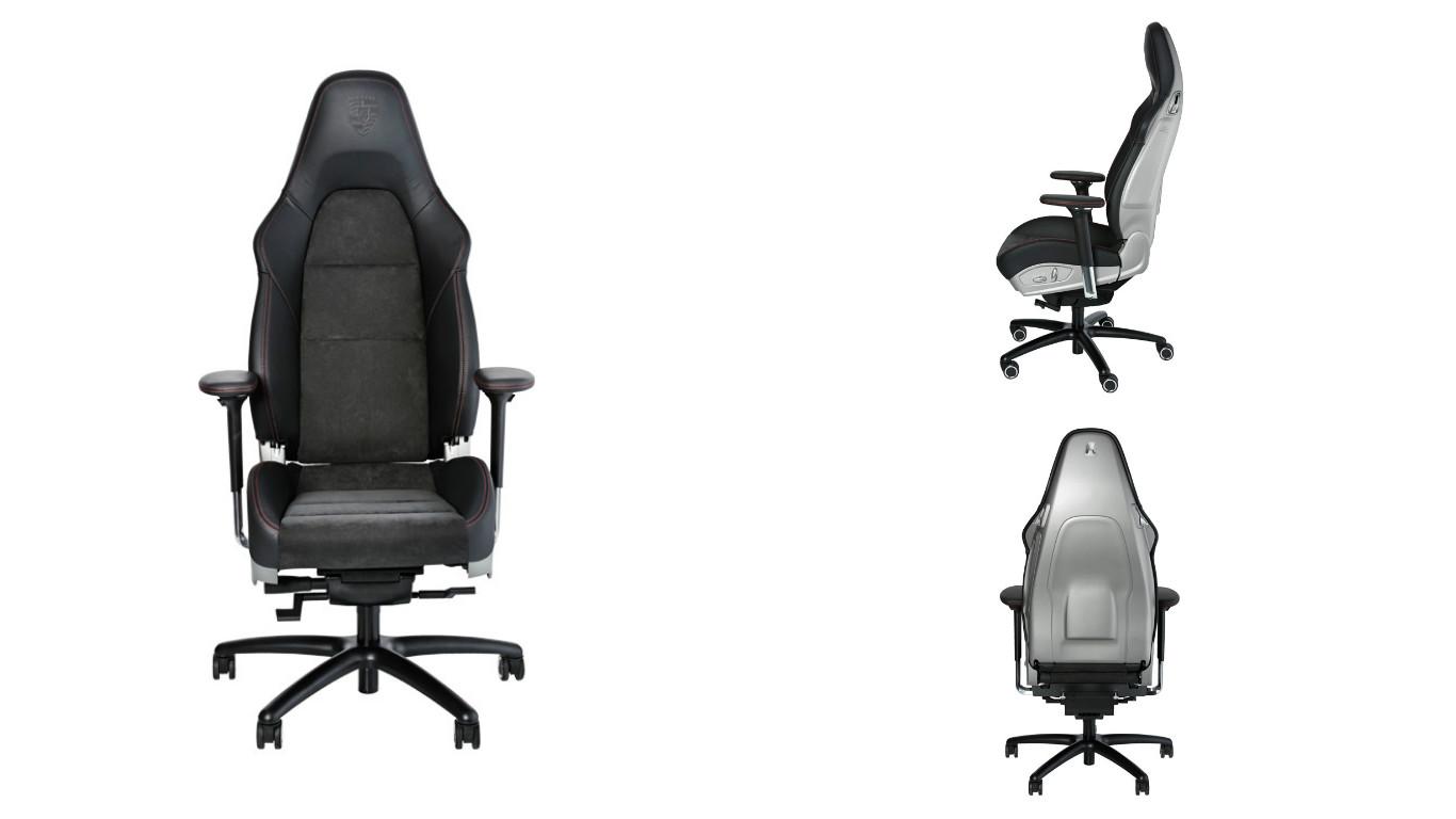 Porsche выпустила офисное кресло (видео)