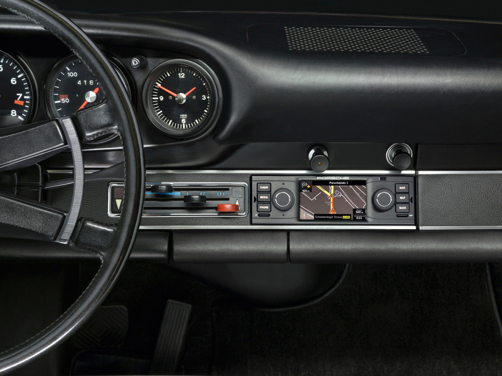 Навигатор Porsche