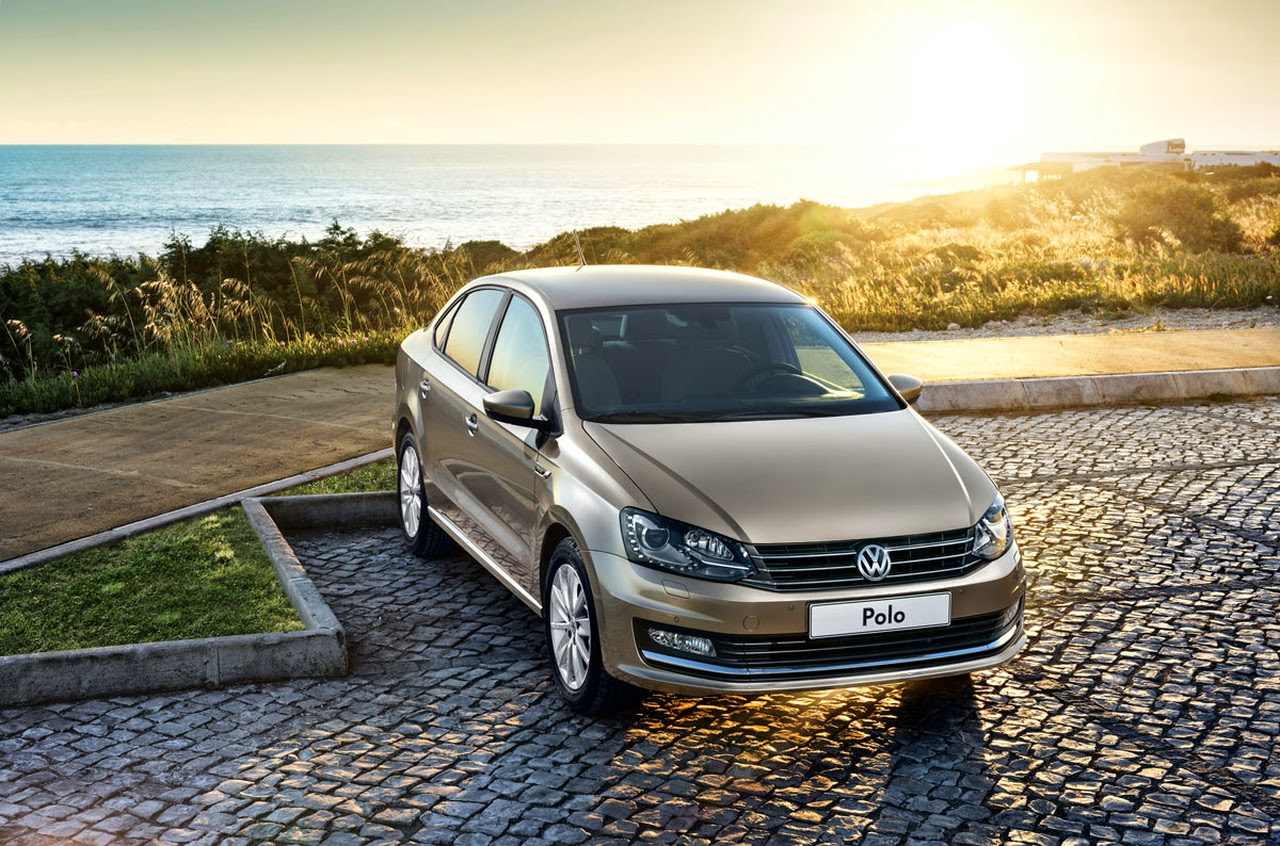 Volkswagen Polo Sedan оновився