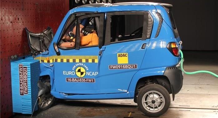 Краш-тесты квадрициклов расстроили специалистов Euro NCAP (видео)
