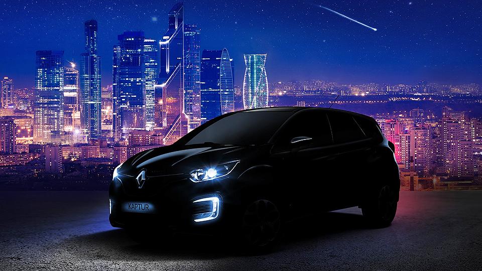 Renault ������� ���� ����� � �������� ����� ������ Captur