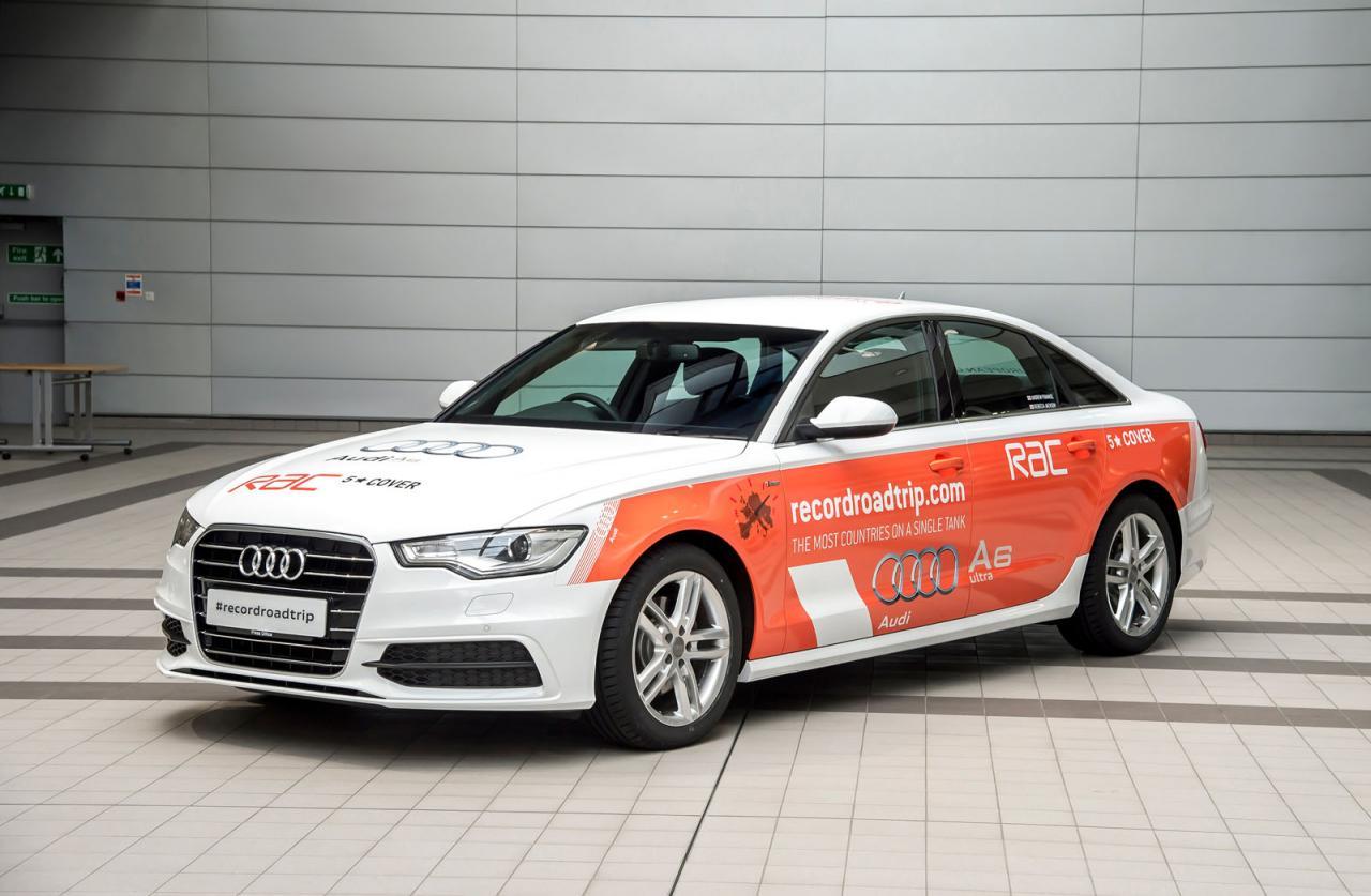 Audi заставит попотеть ради мирового рекорда