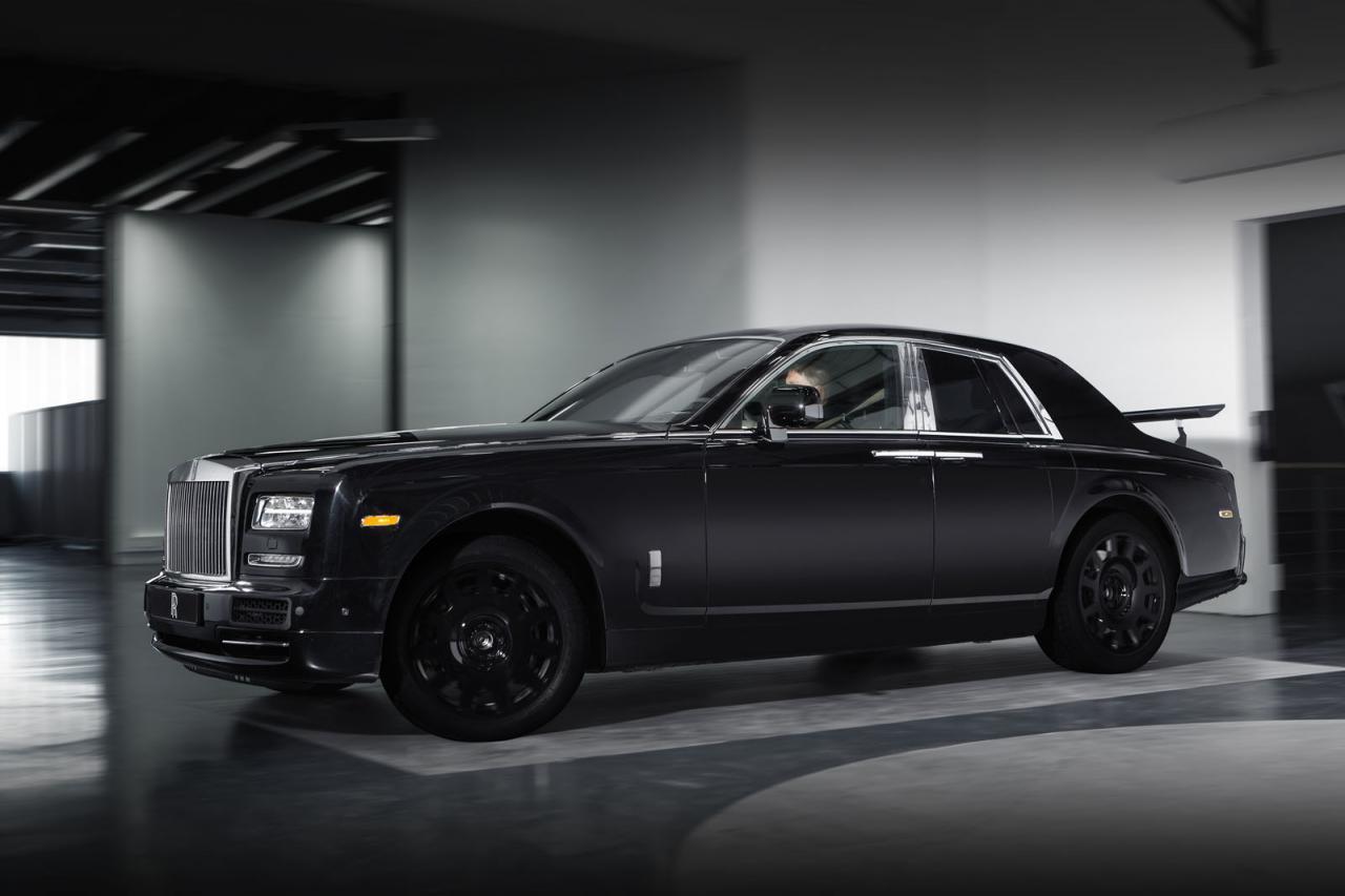 Rolls-Royce имитировал внедорожник антикрылом на «Фантоме»