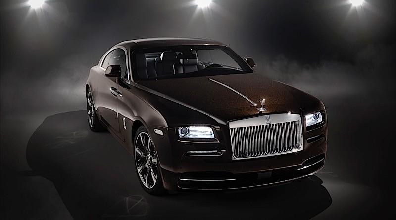 Rolls-Royce представил самое «громкое» купе Wraith