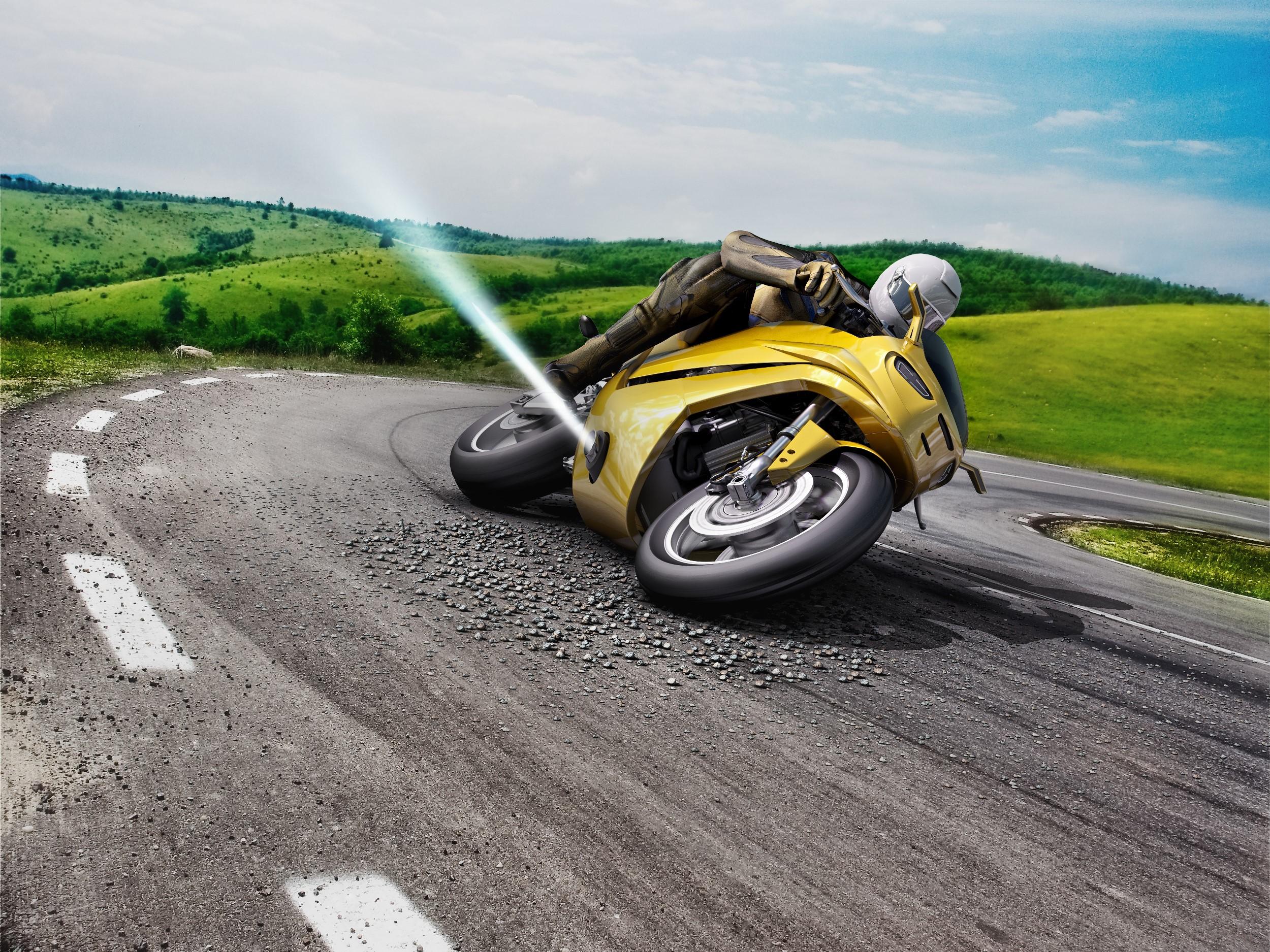 Компания Bosch разработала реактивный стабилизатор для мотоциклов