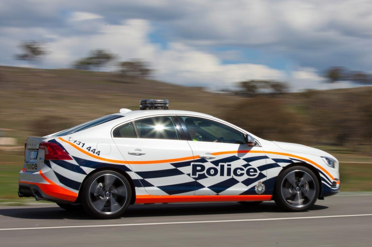 Volvo S60 Polestar Police edition