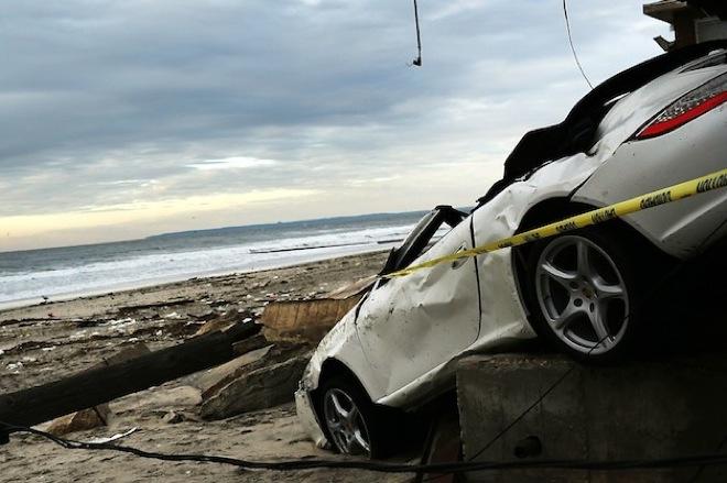 Аукцион примет пострадавшие от урагана автомобили